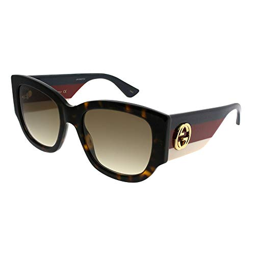 Gucci Brown Gradient Sunglasses GG0276S-002 53 (And Sunglass Optical)