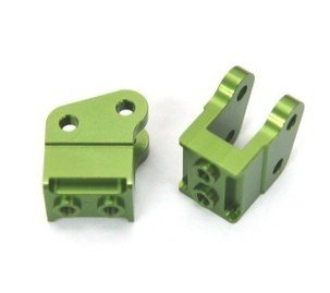 ST Racing Concepts STA80070XG Aluminum Heavy Duty Bottom Shock Mounts for The Axial Wraith, Green