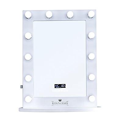 ReignCharm Hollywood Vanity Mirror Bluetooth Audio-Enabled LED Light Bulbs, White