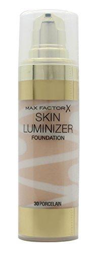 (Skin Luminizer Foundation - # 30 Porcelain Max Factor Foundation Women 30 ml (Pack of 5))