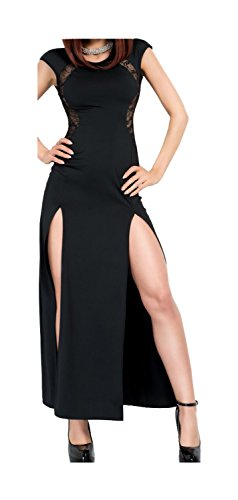 Robe Femme Medium Chilirose Noir 40 nWAPccgF