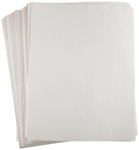 Sax Plain White Newsprint Newspaper - 8 1/2 x 11 inches - Pack of 500 - White - 11