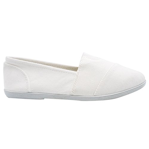 Soda Women Oggetto Flats-shoes New White