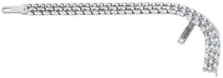 """bike part,for 20/"""" lowrider chain guard Triple Square Twisted Chain Guard Chrome"""