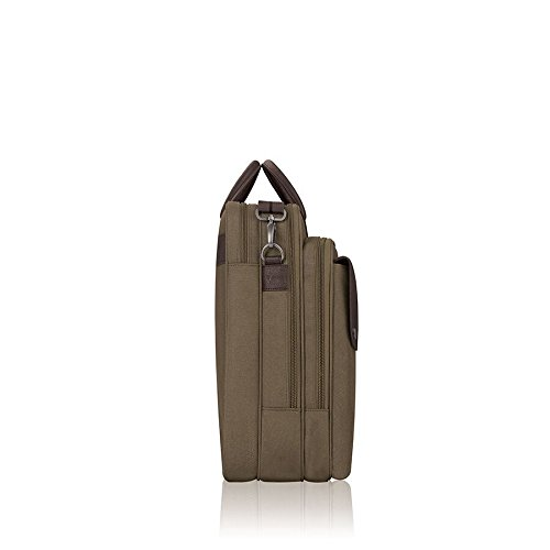 Solo Rucker 15.6 Inch Laptop Briefcase, Khaki by SOLO (Image #5)