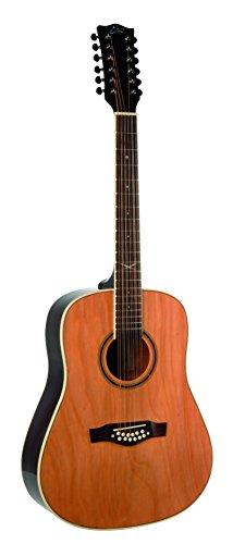 Eko Guitars 06217010 NXT Series 12-String Dreadnought Acoustic Guitar, Natural
