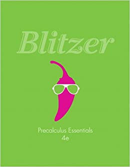 robert blitzer precalculus 4th edition pdf