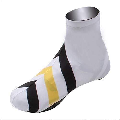 サイクリングシューズカバー パンダ乗馬防風性と防水靴カバー屋外機器 防水レインブーツシューズカバー (Color : Panda, Size : XL)