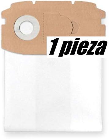 masilla, yeso, etc. 1x Bolsa reutilizable con cremallera ASA 30 L PC Inox para aspirador tejido Metabo ASA 25 L PC reforzadas de 6 capas para polvo de construcci/ón