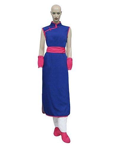 FW@ Dragon Ball Chi Chi Cosplay Costume , female , xxs (Chichi Costume)