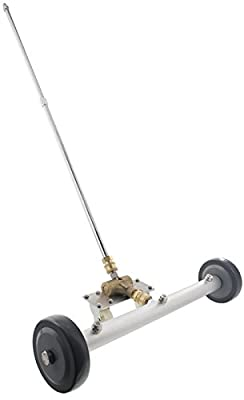 """Erie Tools 21"""" Vehicle Undercarriage Surface Cleaner 4000 PSI 4.0 Orifice 3/8"""" Quick Connect Plug for Power Pressure Washer"""