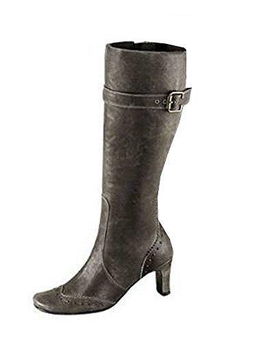 Unbekannt Stiefel - Botas para mujer marrón - pardo