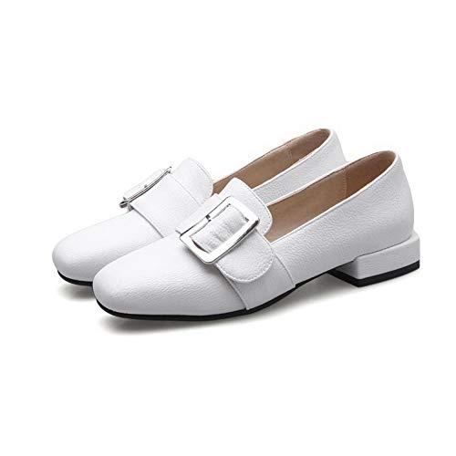 Blanc AdeeSu Compensées Femme Sandales SDC05776 wqRFza