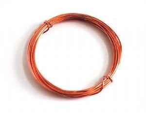 Cable de cobre Proops 1 mm x 4 m. Ideal para Hobby, joyas y de modelaje. Color