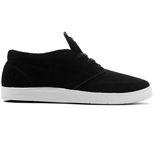 Diamond Supply Co Deck Skateboard Shoes - Black (10, Black) Diamond Footwear