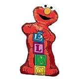 "Elmo with Blocks 34"" Mylar Balloon"