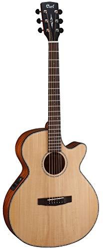 Cort SFX Series SFX-ME Acoustic/Electric Guitar, Open Pore Natural