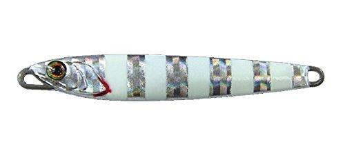 JACKALL(ジャッカル) メタルジグ ルアー ラスパティーン TG 76mm 80g グローストライプ/ボーダーホロの商品画像