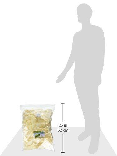 Green-Cow-Rawhide-Dog-Bones-Natural-Chips-5-Pound-Bag