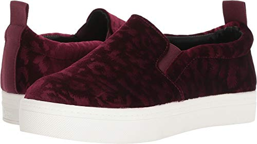 Women's Wine Sam Scotlyn Sneaker Animal Edelman Velvet Spot by Circus CwBqYxft