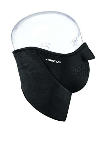Seirus Innovation Neofleece Combo Scarf, X-Small, Black