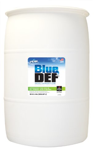 BlueDEF DEF001 Diesel Exhaust Fluid - 55 Gallon Drum