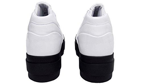 Swiss K mode Cuir femme Chaussures verni Baskets plateforme à drrxp