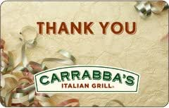 Carrabba's Italian Grill Thank You Gift Card