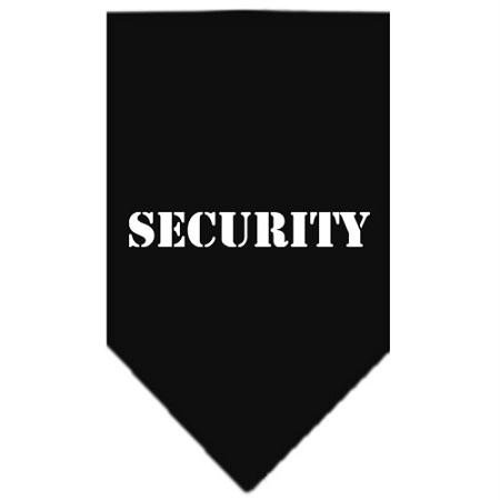 (Mirage Pet Products Security Screen Print Bandana, Large, Black)
