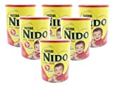 Nestle Nido Kinder 1+ Powdered Milk Beverage 3.52 lb. Canister (Pack of 6)