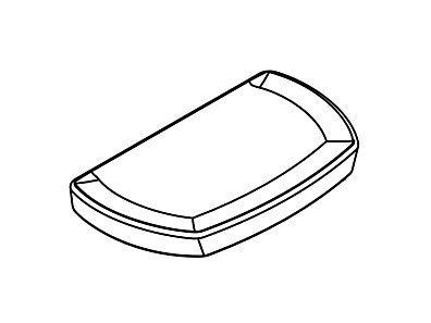 Kohler K-1138565-7 Black Toilet Tank Lid/Cover