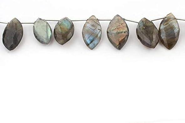 Rare Lepidolite 12x6x4mm Marquis Briolette Bead Strand 109623
