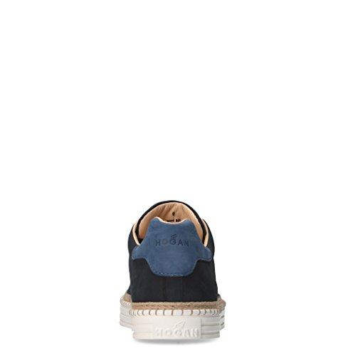 outlet best sale Hogan Men's HXM2600AD506RN669E Black Leather Sneakers outlet footlocker finishline high quality for sale U885m4KuRE
