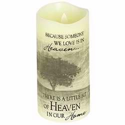 Everlasting Candle - Carson, Everlasting Glow With Premier Flicker