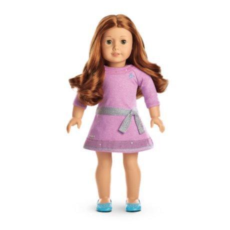 American Girl - Truly MeTM Doll: Light Skin, Wavy Red Hair, Green Eyes DN61 by American Girl by American Girl