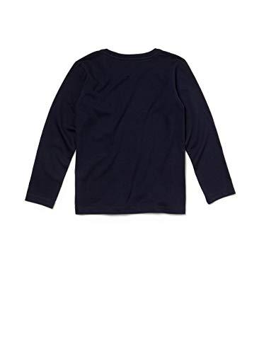 166 Garçon Blue Lacoste navy shirt T Bleu qnPfax