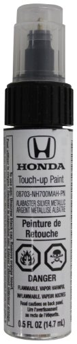 - Genuine Honda Accessories 08703-NH700MAH-PN Alabaster Silver Metallic Touch-Up Paint