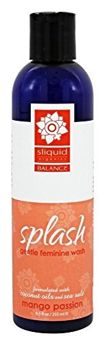 Sliquid Splash Natural Feminine Wash Grapefruit Thyme 8.5 oz