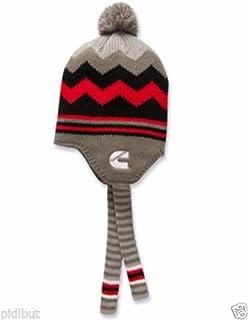 Cummins dodge truck beanie stocking hat ski cap toboggan black earflap pom  pom 948622d8d9ee