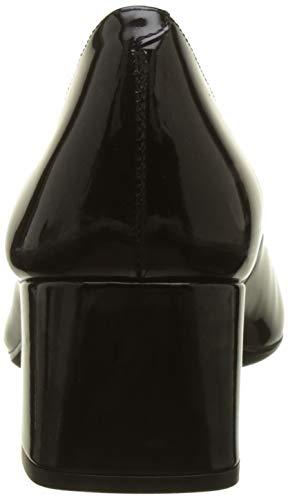 Unisa f18 Black Escarpins pa Kumer Black Femme Noir ppxwr4nqC