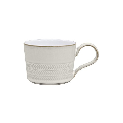 - Denby USA Natural Canvas Textured Teacup