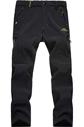 - MAGCOMSEN Mens Ski Pants Waterproof Climbing Pants Men Windproof Snowboard Pants Snow Pants Black
