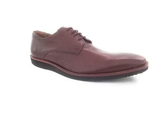 Kuts n Crvs Drak Brown Leather Formal Shoes