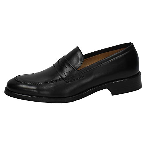 10419 Noir In Made Spain pour Mocassins Homme ZExvxqB