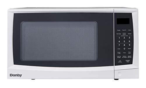 Danby DMW07A4WDB 0.7 cu. ft. Microwave Oven, White.7 cu.ft