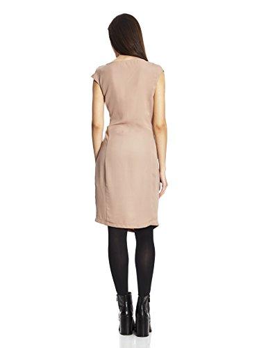 BROADWAY NYC - Robe - Col Ras Du Cou - Sans Manche - Femme Rose Couleur chair Medium