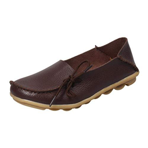 femmes uk Café Chaussures lacets non Zhrui d'extérieur Soft avec taille glissants orange Pois Casual couleur 2 pour xaZa5YwUfq