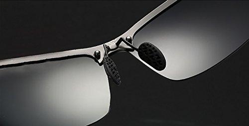 Soleil Couleur Cool Lunettes Lunettes Lunettes de Men Sunglasses de Riding 5 Sunglasses 7 Polarized Soleil WYJL Bn4qEYOw