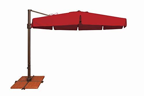 - SimplyShade Bali Patio Umbrella in Jockey Red