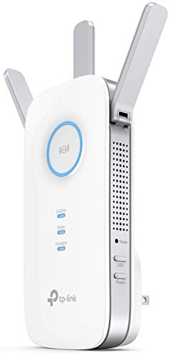 TP-Link | PCMag Editor's Choice - AC1750 Wifi Range Extender | Up to 1750Mbps | Dual Band, Repeater, Internet Booster, Access Point | Extend Wifi Signal to Smart Home & Alexa Devices (RE450)